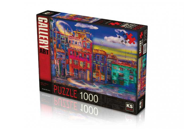 Ks Games 1000 Parça Night Without The Moon Puzzle 20557