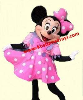 Minnie Mouse Maskot Kostüm